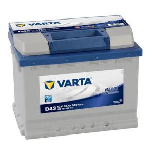 varta blue dynamic D43 12V 60 AH