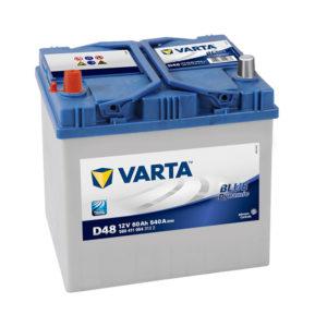 varta blue dynamic D48 12V 60AH