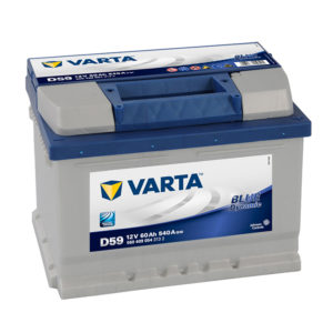 varta blue dynamic D59 12V 60AH