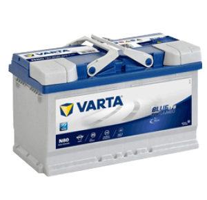 varta blue dynamic efb N80 12V 80AH