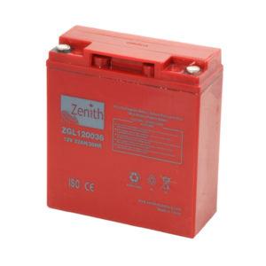 batteria AGM 12v 22ah