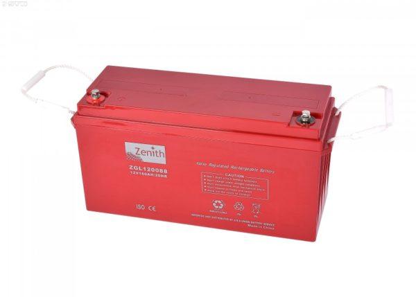 zgl120088 batteria al piombo sigillata agm 12v 160 ah