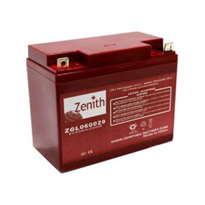 batteria AGM 6v 20ah