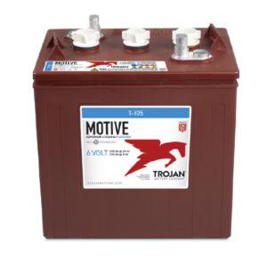 Batterie a piastra piana Trojan