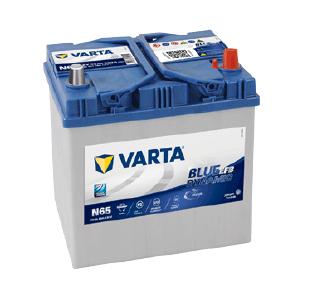 varta blue dynamic efb N65 12 V 65 AH