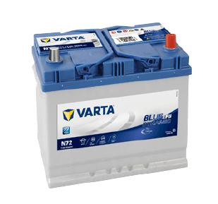 varta blue dynamic efb N72 12V 72AH