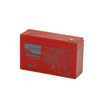 Batterie sigillate AGM ZGL060026 6V 12AH