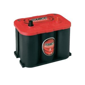 Optima Red Top RT R 4.2 batteria realizzata con tecnologia AGM a spirale per alte prestazioni e lunga durata