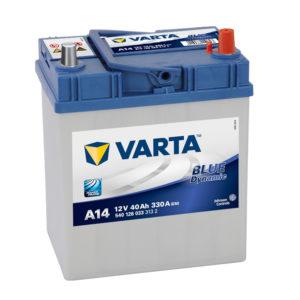 Varta Blue Dynamic A14 12V 40Ah 540126033
