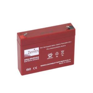 batteria AGM 6V 7ah