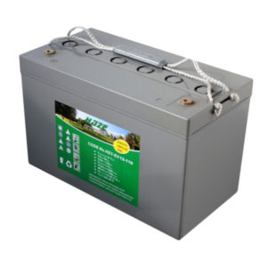 batteria al gel deep cycle 12v 119 ah