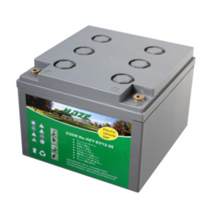 batteria al gel deep cycle 12v 25 ah
