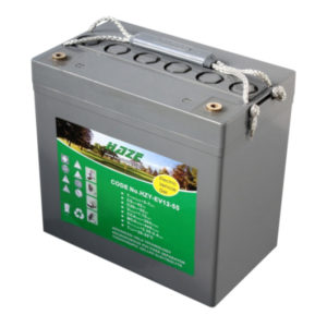 batteria al gel deep cycle 12v 55 ah