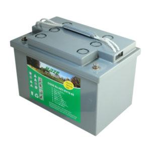 batteria al gel deep cycle 12v 75 ah