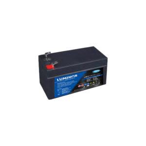 Batterie sigillate AGM Luminor LGB12-1,3 12V 1,3Ah