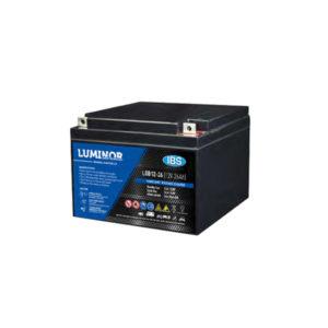 Batterie sigillate AGM Luminor LGB12-12 12V 26Ah