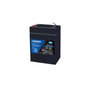 Batterie sigillate AGM Luminor LGB6-5 6V 5Ah